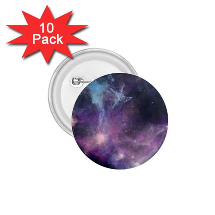 Blue Galaxy  1.75  Buttons (10 pack)