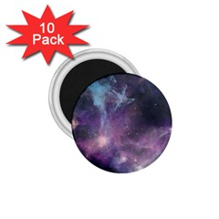 Blue Galaxy  1 75  Magnets (10 Pack)