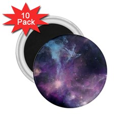 Blue Galaxy  2 25  Magnets (10 Pack)  by DanaeStudio