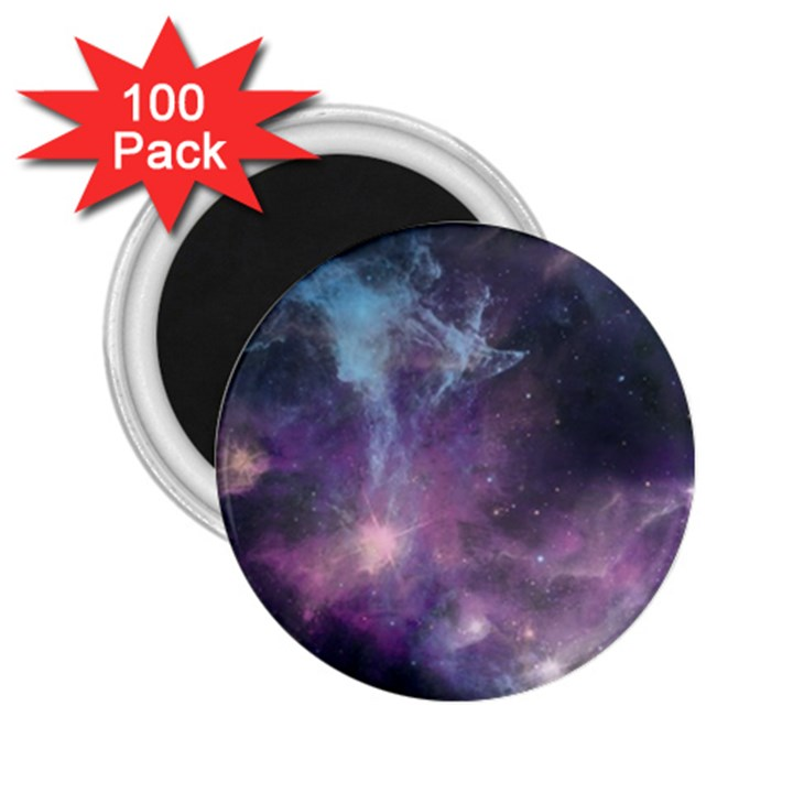 Blue Galaxy  2.25  Magnets (100 pack)