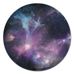 Blue Galaxy  Magnet 5  (Round) Front