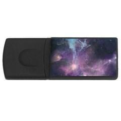 Blue Galaxy  Usb Flash Drive Rectangular (4 Gb)  by DanaeStudio