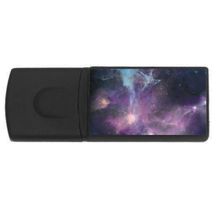Blue Galaxy  USB Flash Drive Rectangular (4 GB)