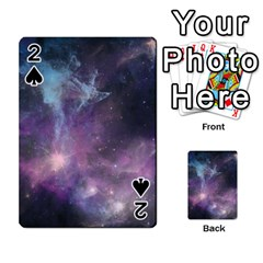 Blue Galaxy  Playing Cards 54 Designs  by DanaeStudio