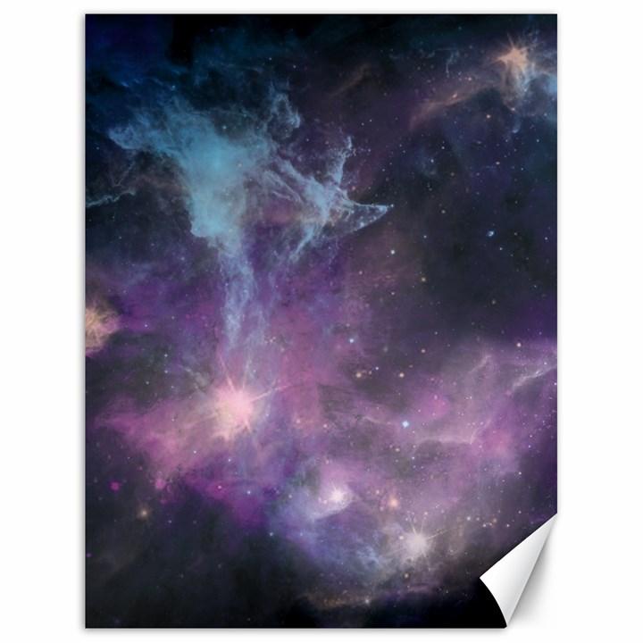 Blue Galaxy  Canvas 18  x 24