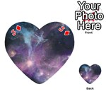 Blue Galaxy  Playing Cards 54 (Heart)  Front - DiamondJ