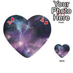 Blue Galaxy  Playing Cards 54 (Heart)  Front - DiamondA