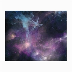 Blue Galaxy  Small Glasses Cloth (2 Side) by DanaeStudio