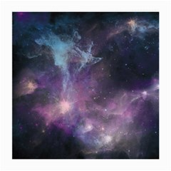 Blue Galaxy  Medium Glasses Cloth (2 Side) by DanaeStudio