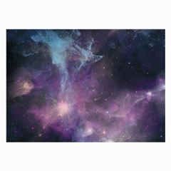 Blue Galaxy  Large Glasses Cloth (2 Side) by DanaeStudio