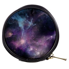 Blue Galaxy  Mini Makeup Bags by DanaeStudio