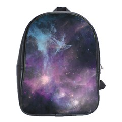 Blue Galaxy  School Bags(large)  by DanaeStudio