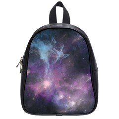 Blue Galaxy  School Bags (small)  by DanaeStudio