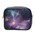 Blue Galaxy  Mini Toiletries Bag 2-Side Front
