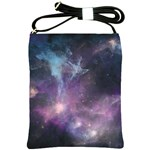Blue Galaxy  Shoulder Sling Bags Front