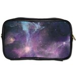 Blue Galaxy  Toiletries Bags Front