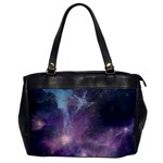 Blue Galaxy  Office Handbags Front