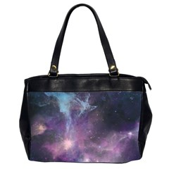 Blue Galaxy  Office Handbags (2 Sides)  by DanaeStudio