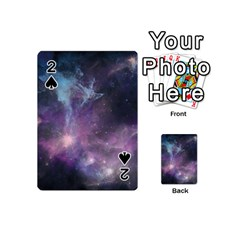 Blue Galaxy  Playing Cards 54 (mini)