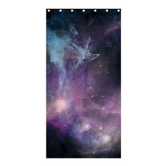 Blue Galaxy  Shower Curtain 36  X 72  (stall)