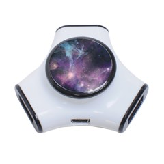 Blue Galaxy  3 Port Usb Hub by DanaeStudio