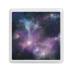 Blue Galaxy  Memory Card Reader (square)