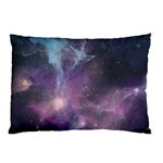 Blue Galaxy  Pillow Case (Two Sides) Back