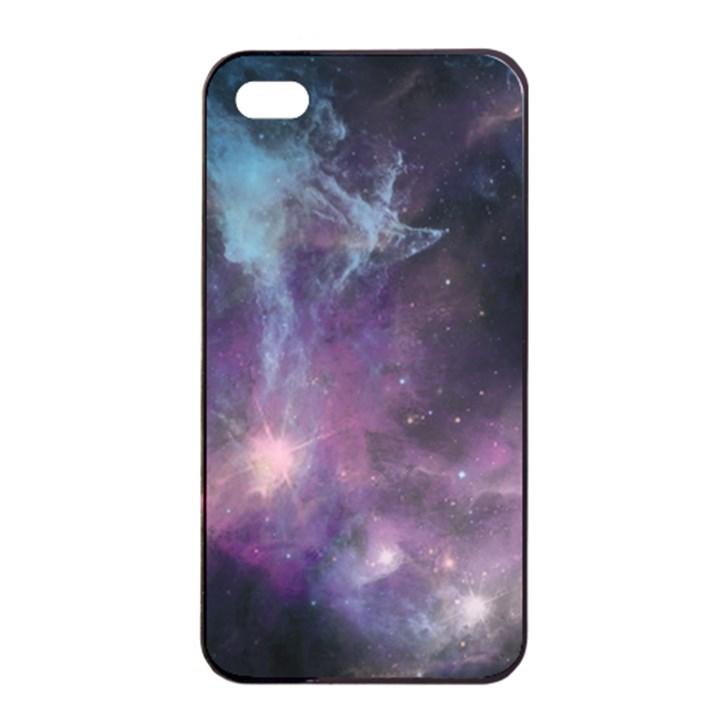 Blue Galaxy  Apple iPhone 4/4s Seamless Case (Black)