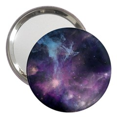 Blue Galaxy  3  Handbag Mirrors
