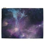 Blue Galaxy  Cosmetic Bag (XXL)  Front