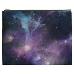 Blue Galaxy  Cosmetic Bag (xxxl)  by DanaeStudio