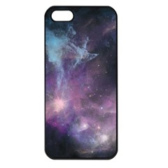 Blue Galaxy  Apple Iphone 5 Seamless Case (black)