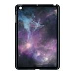 Blue Galaxy  Apple iPad Mini Case (Black) Front