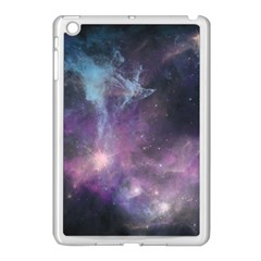 Blue Galaxy  Apple Ipad Mini Case (white) by DanaeStudio