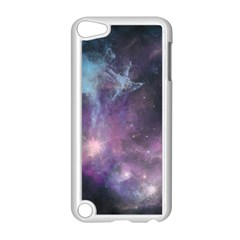 Blue Galaxy  Apple Ipod Touch 5 Case (white) by DanaeStudio