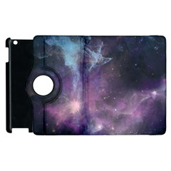Blue Galaxy  Apple Ipad 3/4 Flip 360 Case by DanaeStudio