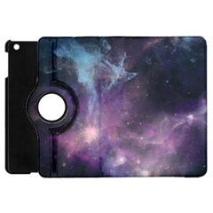 Blue Galaxy  Apple Ipad Mini Flip 360 Case by DanaeStudio