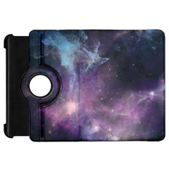Blue Galaxy  Kindle Fire Hd Flip 360 Case by DanaeStudio