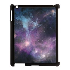 Blue Galaxy  Apple Ipad 3/4 Case (black)