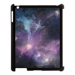 Blue Galaxy  Apple iPad 3/4 Case (Black) Front