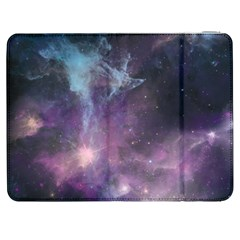 Blue Galaxy  Samsung Galaxy Tab 7  P1000 Flip Case