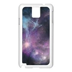 Blue Galaxy  Samsung Galaxy Note 3 N9005 Case (white)