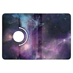 Blue Galaxy  Kindle Fire Hdx Flip 360 Case by DanaeStudio