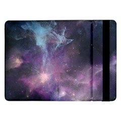 Blue Galaxy  Samsung Galaxy Tab Pro 12 2  Flip Case by DanaeStudio
