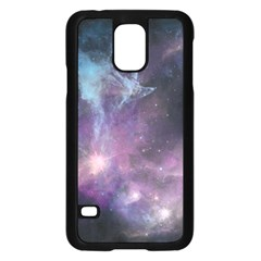 Blue Galaxy  Samsung Galaxy S5 Case (black)