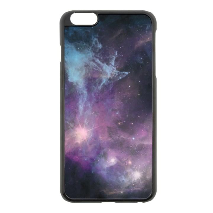 Blue Galaxy  Apple iPhone 6 Plus/6S Plus Black Enamel Case