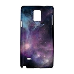 Blue Galaxy  Samsung Galaxy Note 4 Hardshell Case by DanaeStudio