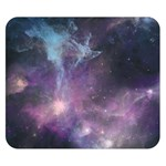 Blue Galaxy  Double Sided Flano Blanket (Small)
