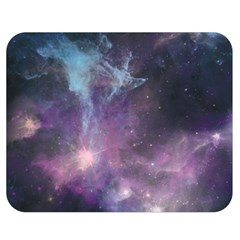 Blue Galaxy  Double Sided Flano Blanket (medium)