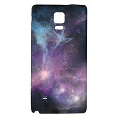 Blue Galaxy  Galaxy Note 4 Back Case by DanaeStudio